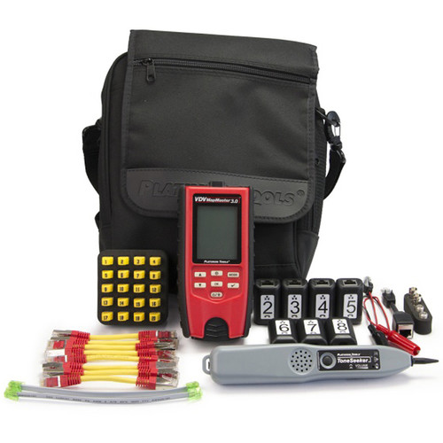 Platinum Tools VDV MapMaster 3.0 Cable Tester Deluxe Pro Kit