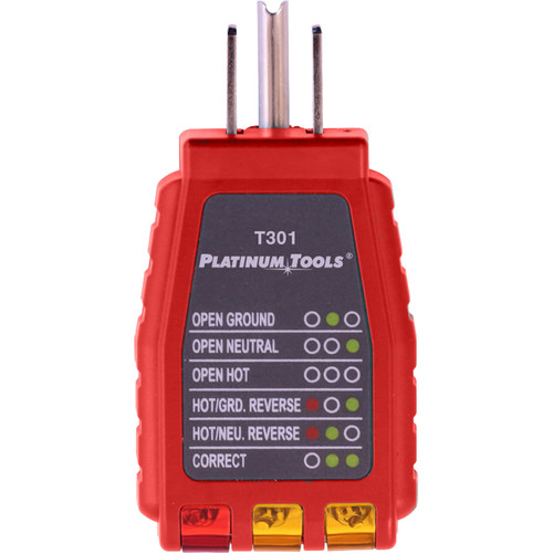 Platinum Tools 110V Outlet Tester