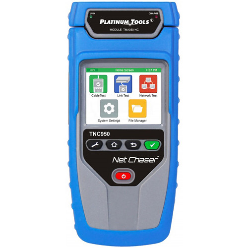 Platinum Tools TNC950AR Net Chaser Ethernet Speed Certifier & Network Tester Kit