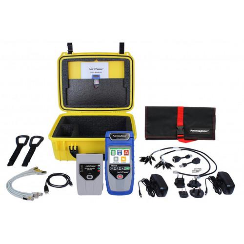 Platinum Tools TNC950DX Net Chaser Deluxe Ethernet Speed Certifier & Network Tester Kit