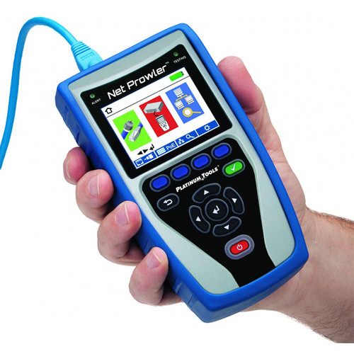 Platinum Tools TNP800 Net Prowler Deluxe Pro Test Kit - Cabling and Network Tester