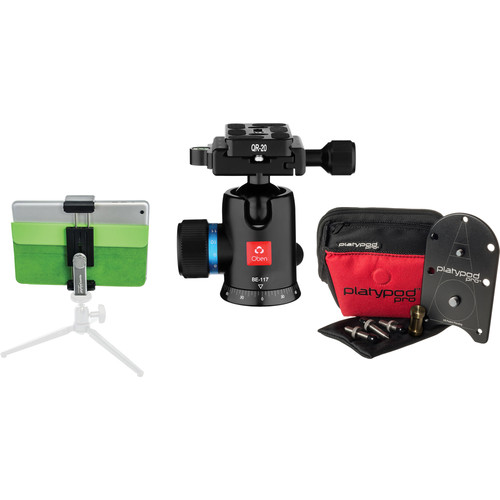 Platypod Deluxe Kit with Ball Head and Tablet Tripod Mount