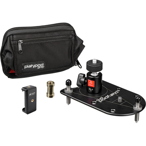 Platypod Deluxe Kit with Mini Ball Head and Smartphone Tripod Mount