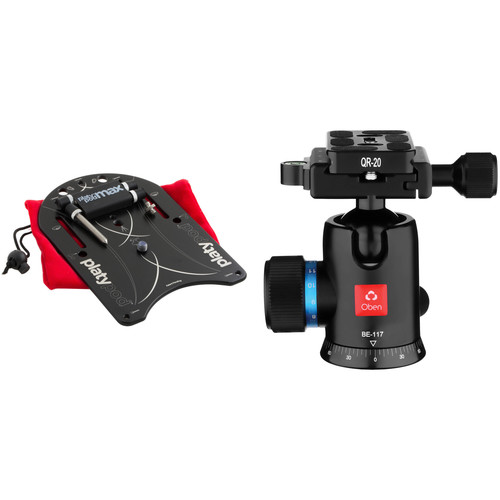 Platypod Max Camera Support with BE-117 Ball Head Kit