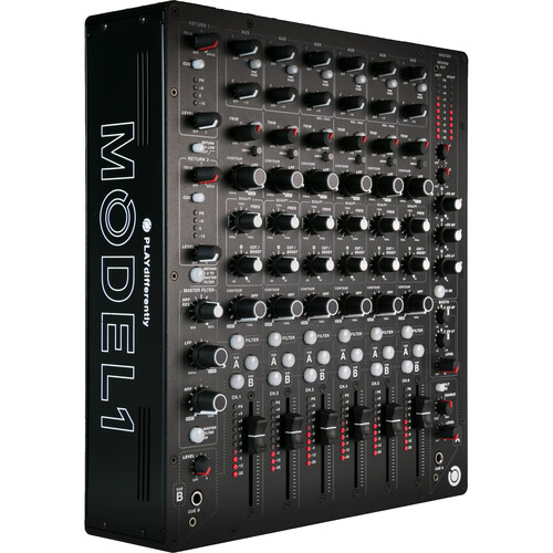 PLAYdifferently MODEL 1 Premium 6-Channel Analog DJ Mixer