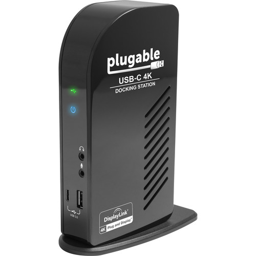 Plugable USB Type-C Triple 4K Display Docking Station