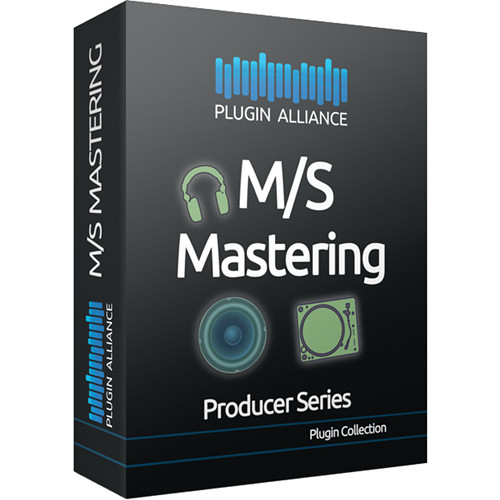 Plugin Alliance M/S Mastering - Mid/Side Processing Plug-Ins Bundle (Download)