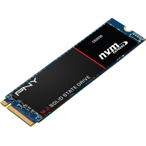PNY Technologies 480GB CS2030 M.2 PCIe (Gen 3x4) NVMe Solid State Drive