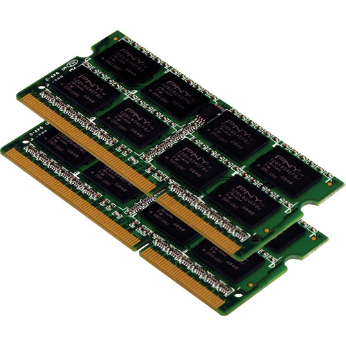 PNY Technologies 8GB (2 x 4GB) DDR3 1600 MHz (PC3-12800) Low Voltage CAS CL11 Notebook Memory Module Kit
