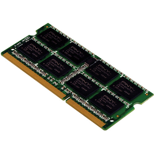 PNY Technologies 8GB DDR3 1600 MHz (PC3-12800) Low Voltage CAS CL11 Notebook Memory Module