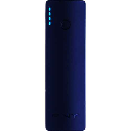 PNY Technologies PowerPack C2200 Portable Battery Charger (Blue)