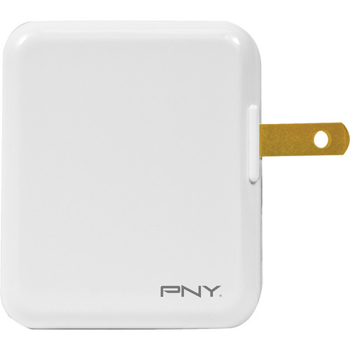 PNY Technologies Dual Port USB Travel Charger (White)