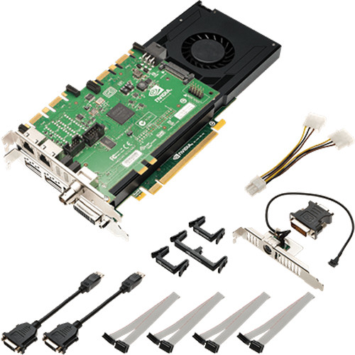 PNY Technologies NVIDIA Quadro K4200 Graphics Card with Sync Card