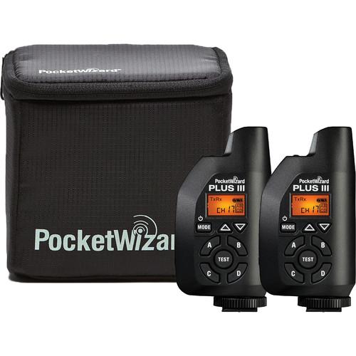 PocketWizard Plus III Bonus Bundle