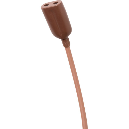 Point Source Audio SERIES8 CO2-8WL-SK Dual Omni Lavalier Mic with Hardwired 3-Pin LEMO Connectors (Brown)
