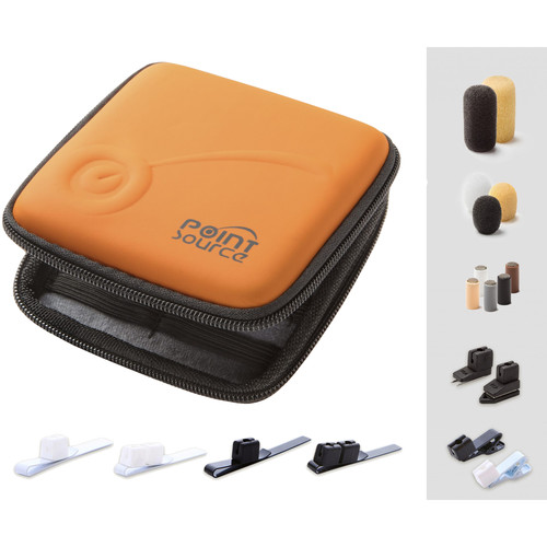 Point Source Audio Accessory Kit for Lavalier Microphones