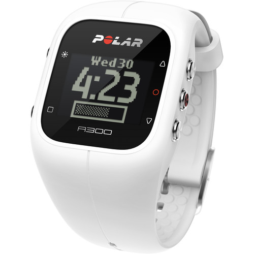 Polar A300 Fitness and Activity Monitor with H7 Heart Rate Monitor (Powder White)