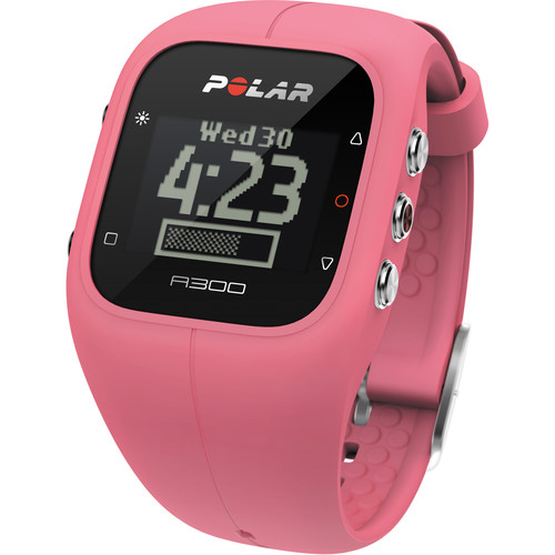 Polar A300 Fitness and Activity Monitor with H7 Heart Rate Monitor (Sorbet Pink)
