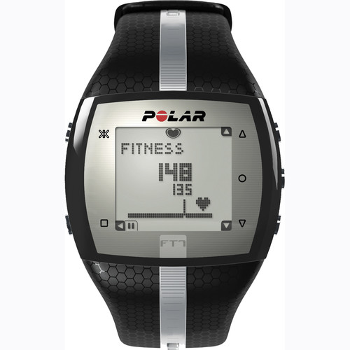 Polar FT7 Training Computer Watch (Black/Silver)