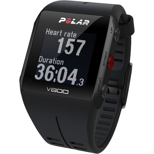 Polar V800 Javier Gomez Noya Special Edition Sports Watch (Black)