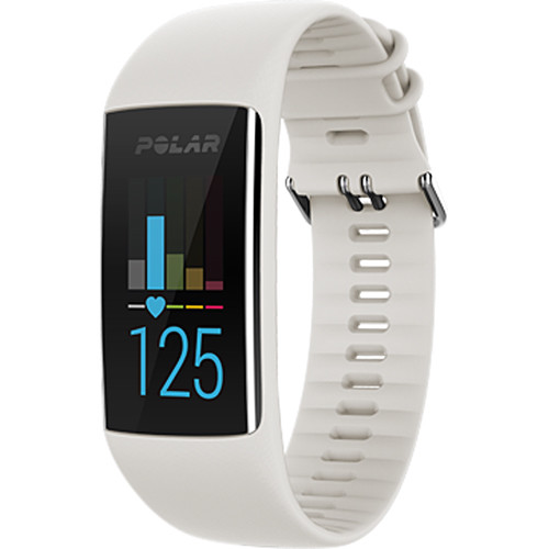 Polar A370 Fitness Tracker (Medium/Large, White)