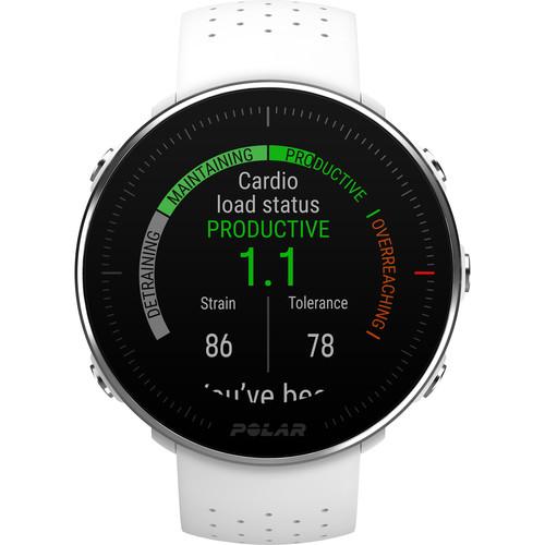 Polar Vantage M Multisport & Running GPS Watch (Medium/Large, White)