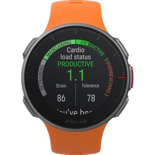 Polar Vantage V Multisport/Triathlon GPS Watch (M/L, Orange)
