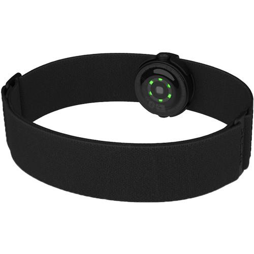 Polar OH1+ Optical Heart Rate Sensor with Swim Goggle Clip (Black)