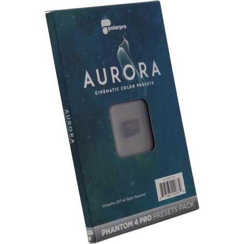 PolarPro Aurora Cinematic Color Presets for Phantom 4 Pro/Adv Edition