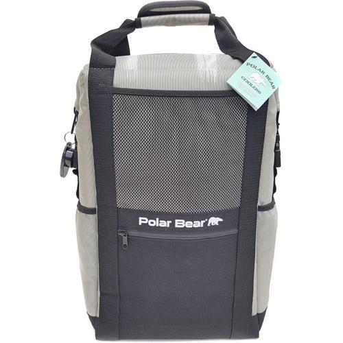 Polar Bear Nylon Solar Bear Backpack Cooler (Silver)