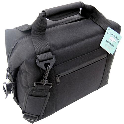 Polar Bear 12 Pack Cooler (Black)