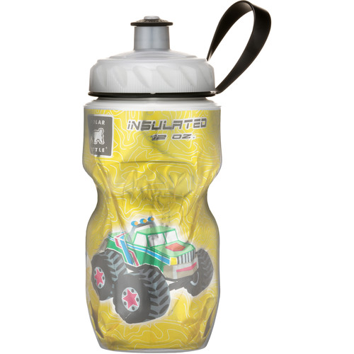 Polar Bottle Insulated Sport Bottle (12 fl oz , Monster Truck)