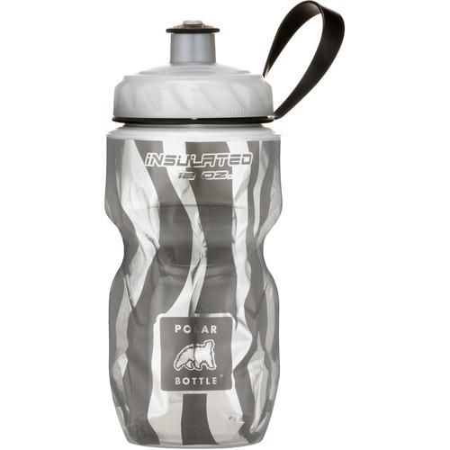 Polar Bottle Insulated Sport Bottle (12 fl oz , Zebra)