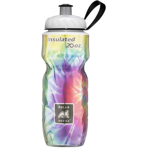 Polar Bottle Insulated Sport Bottle (20 fl oz , Tie Dye Rainbow)
