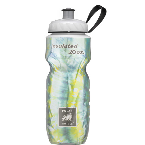 Polar Bottle 20 oz Insulated Sport Bottle (Tie Dye Surf)