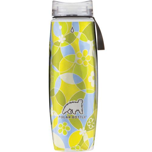 Polar Bottle Ergo Insulated Water Bottle (22 fl oz, Circles & Flowers)