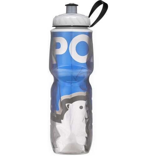 Polar Bottle 24 oz Insulated Sport Bottle (Big Bear Blue)
