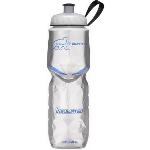 Polar Bottle 24 oz Insulated Sport Bottle (Platinum)