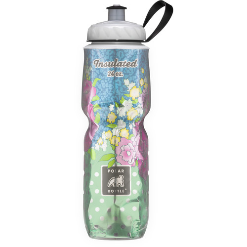 Polar Bottle Insulated Sport Bottle (24 fl oz , Secret Garden)