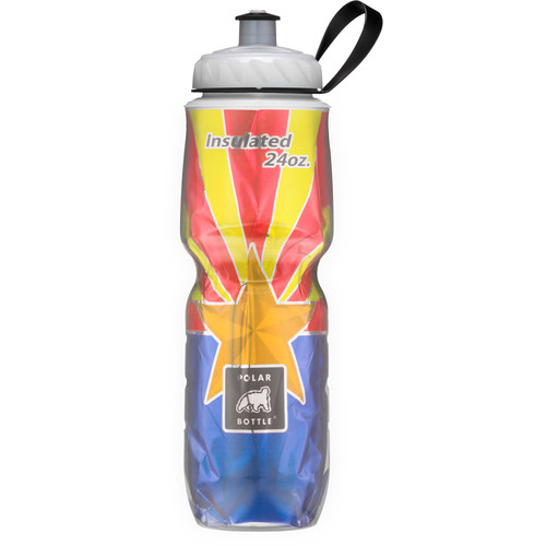 Polar Bottle 24 oz Insulated Sport Bottle (Flag of AZ)