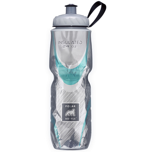 Polar Bottle Insulated Sport Bottle (24 fl oz , Spin Steel)