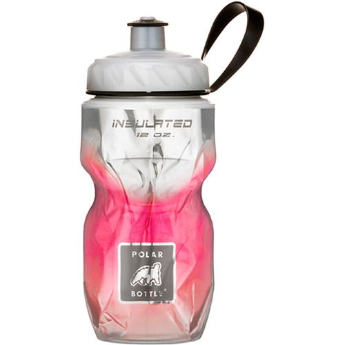 Polar Bottle Insulated Sport Bottle (12 fl oz , Fade Red)