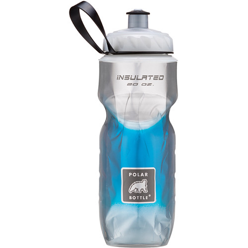 Polar Bottle Insulated Sport Bottle (20 fl oz , Fade Blue)