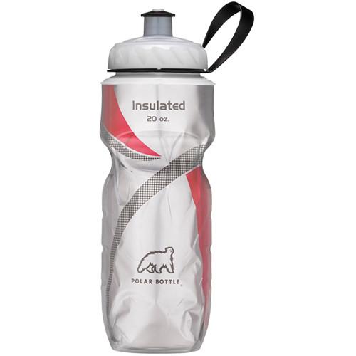 Polar Bottle Insulated Sport Bottle (20 fl oz , Red)