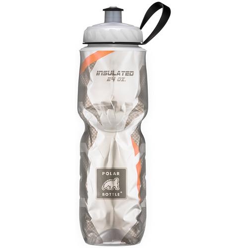 Polar Bottle Insulated Sport Bottle (24 fl oz , Carbon Orange)