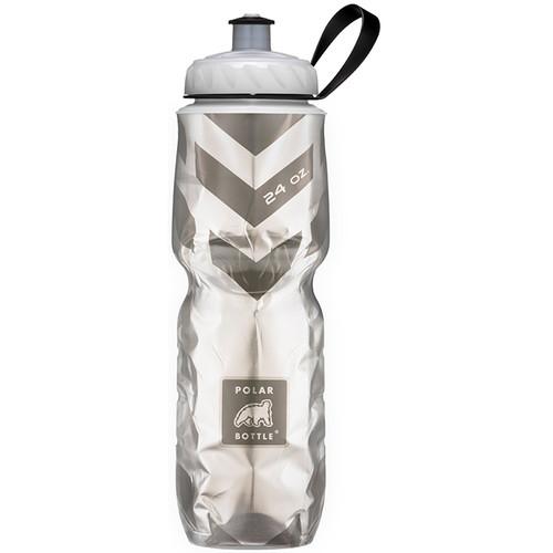 Polar Bottle 24 oz Insulated Sport Bottle (Chevron Black)