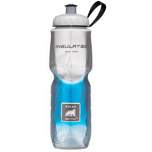 Polar Bottle Insulated Sport Bottle (24 fl oz , Fade Blue)