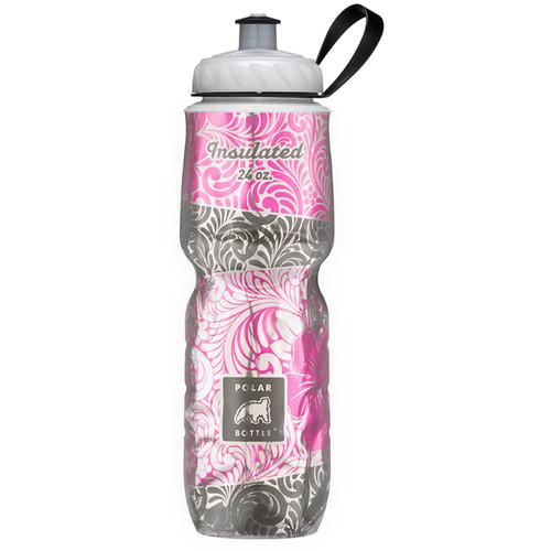 Polar Bottle Insulated Sport Bottle (24 fl oz , Island Blossom)