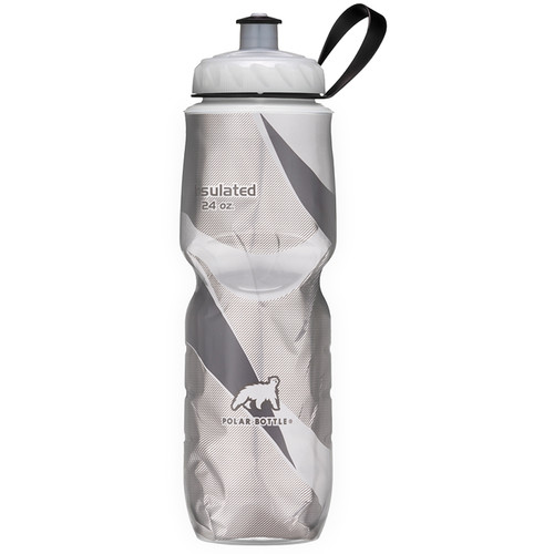 Polar Bottle Insulated Sport Bottle (24 fl oz , Black Pattern)