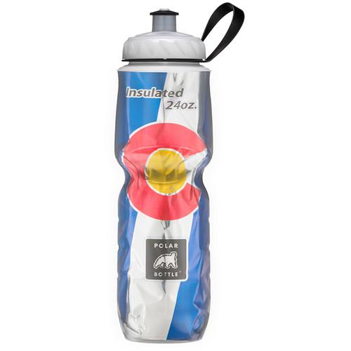Polar Bottle Insulated Sport Bottle (24 fl oz , Colorado State Flag)
